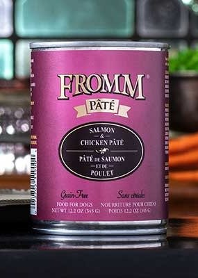 Fromm Fromm 12.2oz Gold Salmon/Chkn Pate