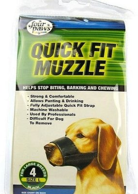 Four Paws Four Paws Quick Fit Muzzle