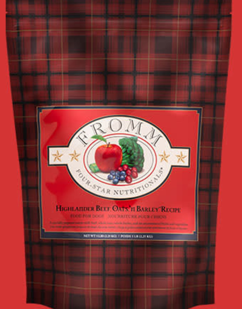 Fromm Fromm Highlander Beef, Oats, & Barley