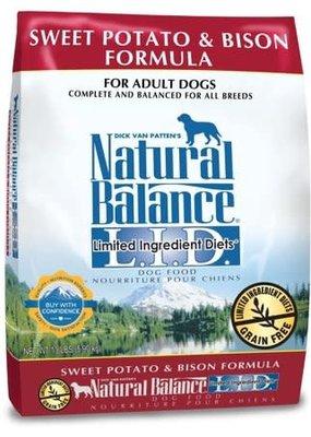 Natural Balance Natural Balance Bison