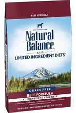 Natural Balance Natural Balance High Protein Beef