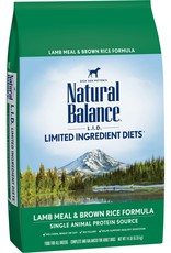 Natural Balance Natural Balance Lamb & Brown Rice