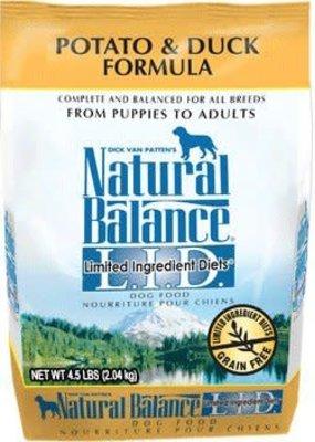 Natural Balance Natural Balance Potato & Duck 4.5lb