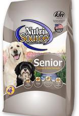 NutriSource NS Senior Chicken & Rice 15#