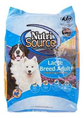 NutriSource NutriSource Large Breed Adult Chicken 33