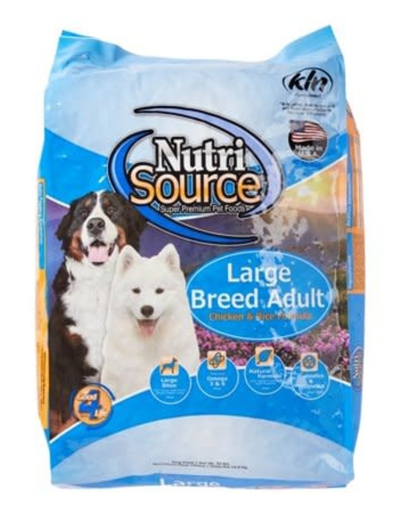 NutriSource NutriSource Large Breed Adult Chicken 33