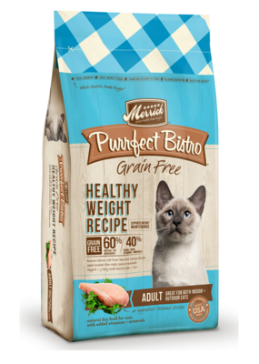 Merrick Merrick Cat Purrfect Bistro Healthy Weight 4#