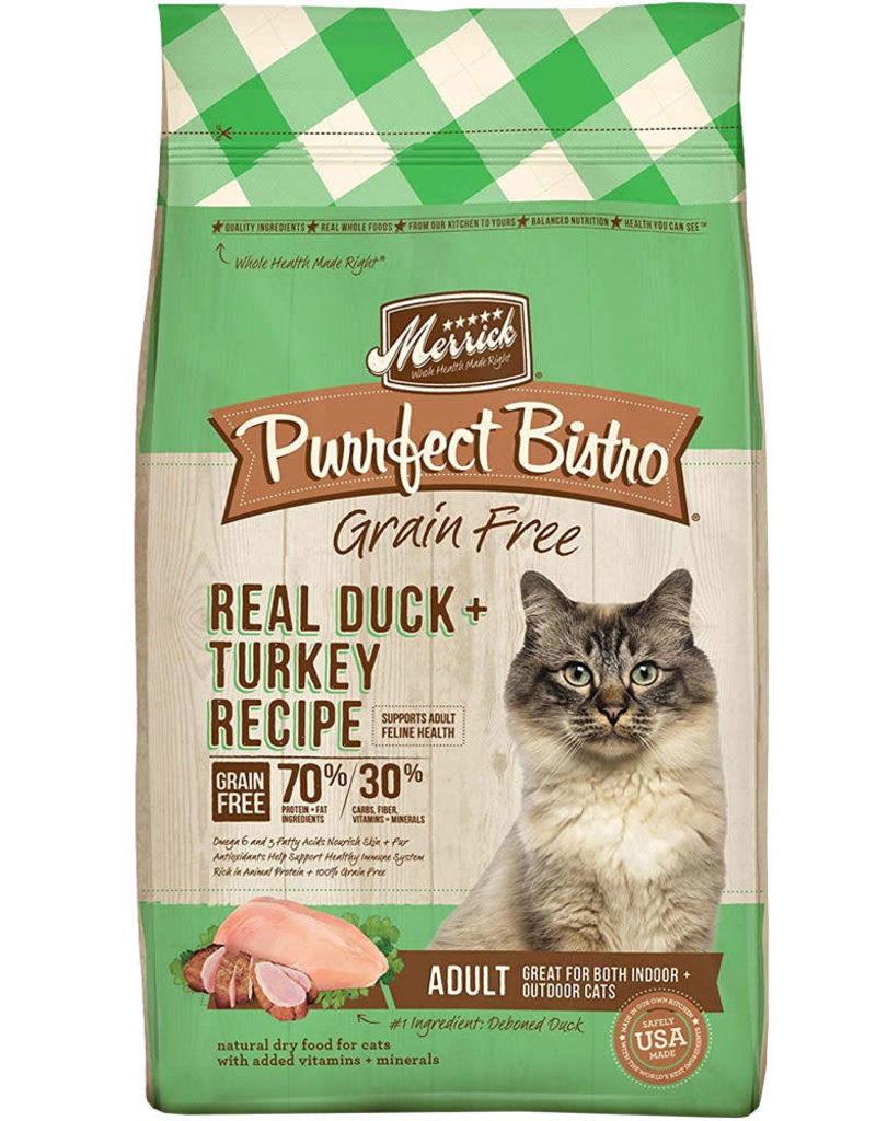 Merrick Merrick Purrfect Bistro Duck & Turkey