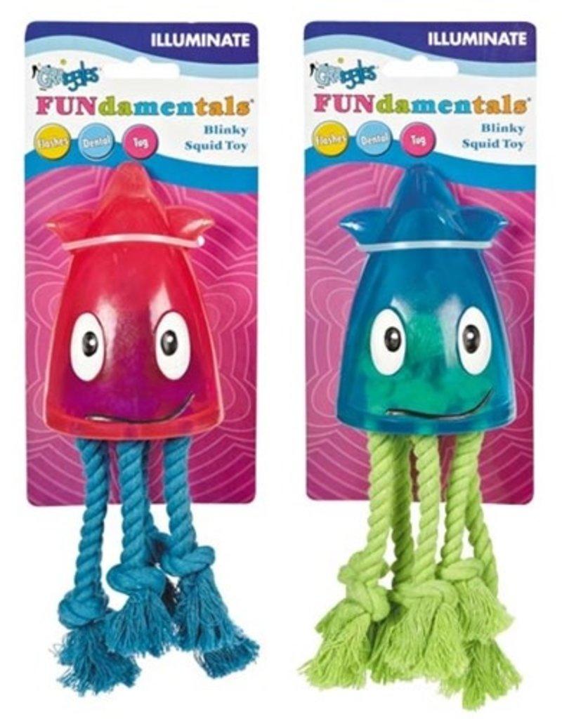 Pet Edge Griggles FUNdamentals Blinky Squid