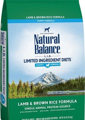 Natural Balance Natural Balance LID Lamb & Rice Puppy 24#