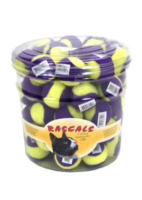 Coastal Coastal Tennis Ball Cat Toy
