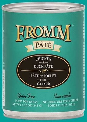 Fromm Fromm Gold Pate 12.2oz