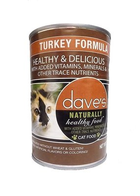 Daves Dave's Cat Nat Healthy Turk 22oz