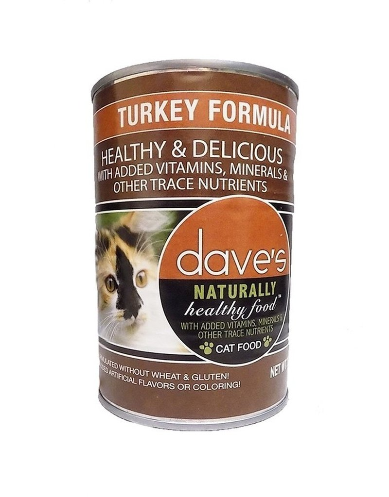 Daves Dave's Cat Nat Healthy Turk 22oz