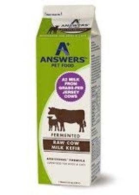 Answers Pet Food Answers Raw Cow Milk Kefir 1 Quart