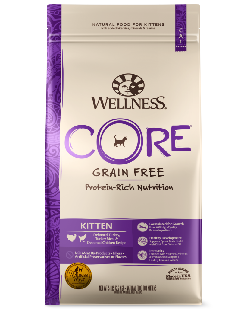Wellness Wellness GF Core Cat 5# Kitten