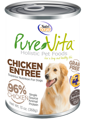 NutriSource PureVita Stew Dog 12.7oz Cans