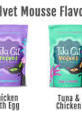 Tiki Pet Tiki Cat Velvet Mousse Pouches 2.8oz