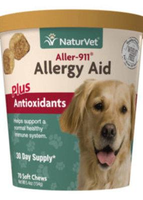 NaturVet NatureVet Allergy Aid + Antioxidants 70ct