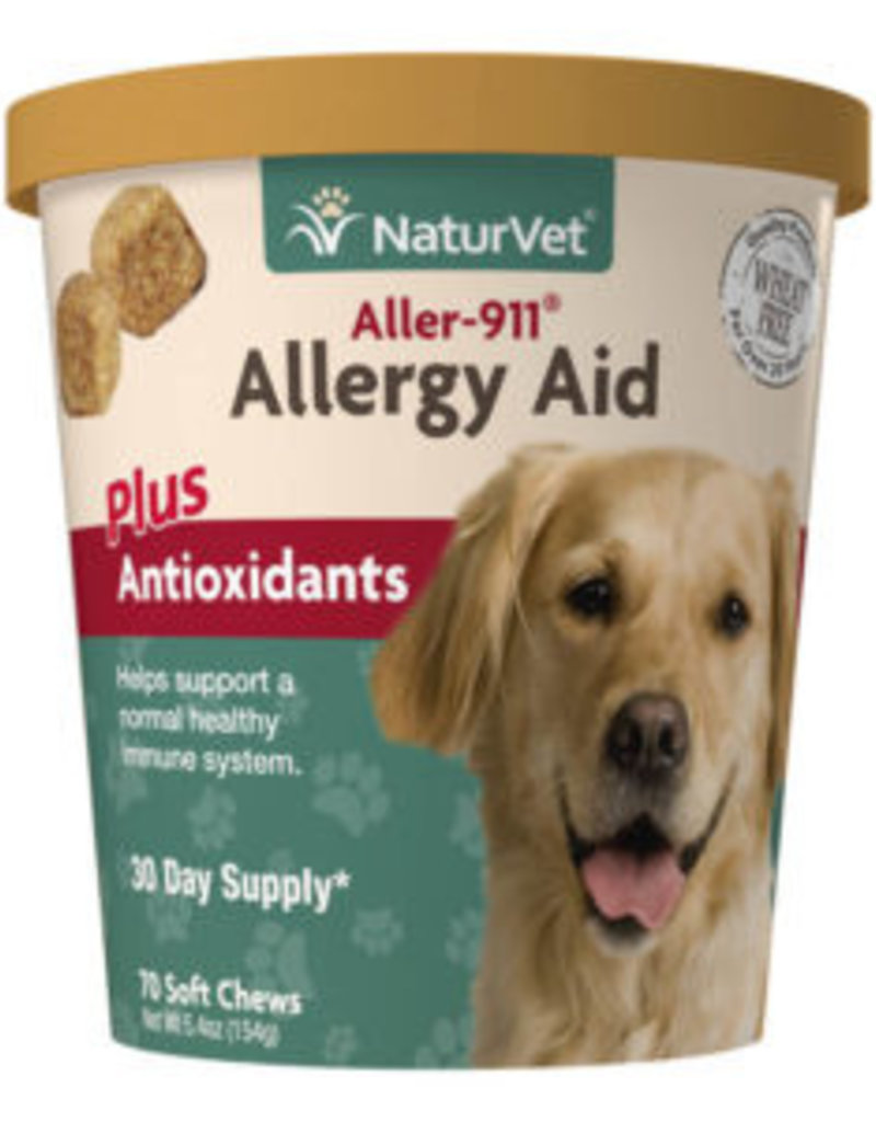 NaturVet NatureVet Allergy Aid + Antioxidants 70ct
