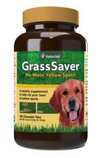 NaturVet NaturVet Grass Saver Chewable Tablets