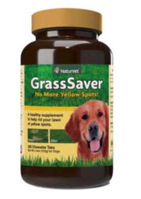 NaturVet NaturVet Grass Saver Chewable Tablets