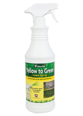 NaturVet NaturVet Yellow to Green Lawn Spray 32oz