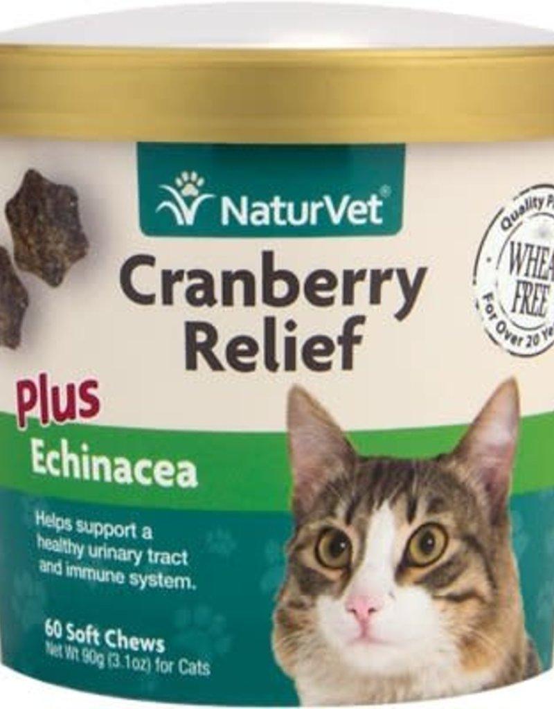 NaturVet NaturVet Cranberry Relief + Echinacea 60ct