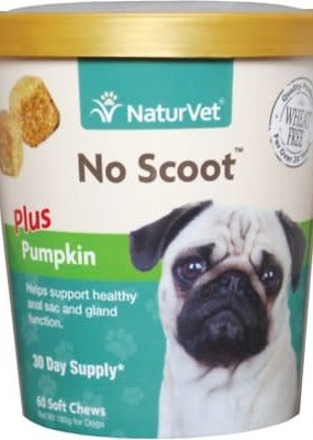 NaturVet NaturVet No Scoot Plus Pumpkin 60ct.