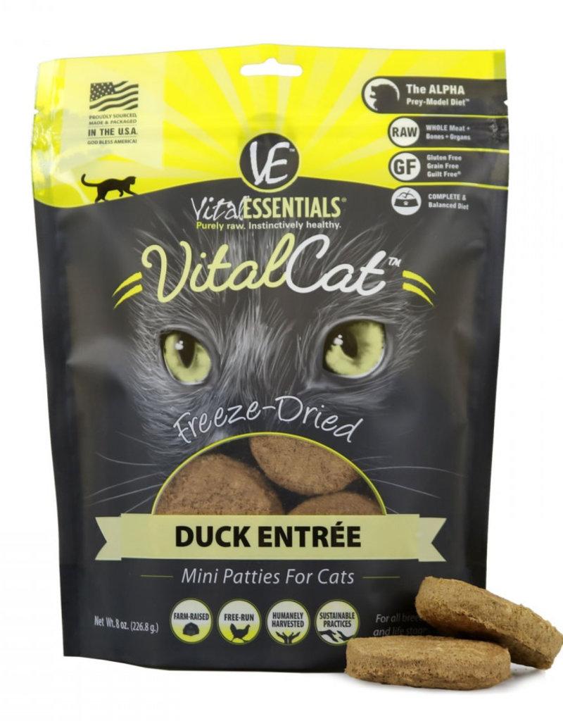 Vital Essentials Vital Esentials Duck Mini Patties 10.5oz