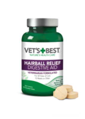 Vets Best Vet's Best Hairball Relief 60ct