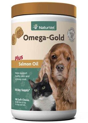 Natures Vet NaturVet 180ct Omega Gold Plus Salmon Oil