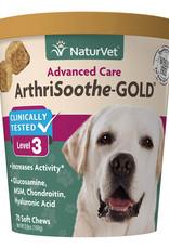 NaturVet NaturVet Arthrisoothe Gold Soft Chews 70 Level 3