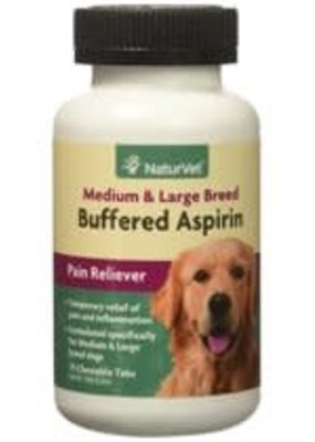 NaturVet NaturVet Buffered Aspirin 75 Count