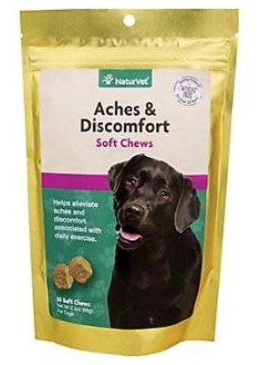 NaturVet NaturVet Aches & Discomforts Soft Chew 30ct