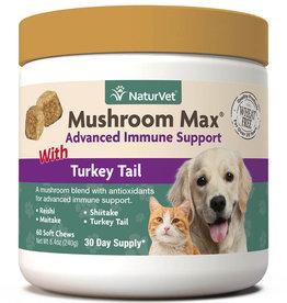 NaturVet NaturVetMushroom Max Advanced Immune Support