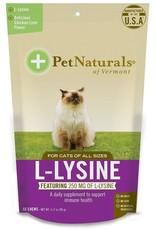 Pet Naturals Pet Naturals 60 Tab L-Lysine Chews Cat