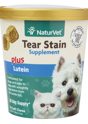 NaturVet NaturVet Tear Stain Supplement Soft Chews 70ct