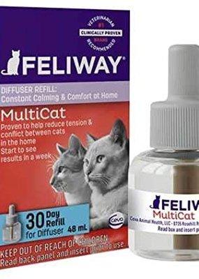 Equipet Feliway Mulicat Diffuser Refill 30 Day