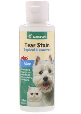 NaturVet NaturVet Tear Stain Remover for Dogs & Cats 4oz