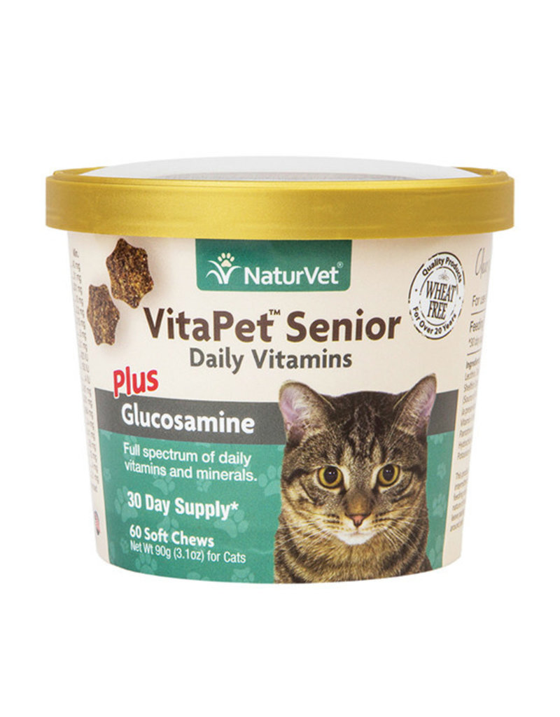 NaturVet NaturVet Senior Cat Vitamin 50