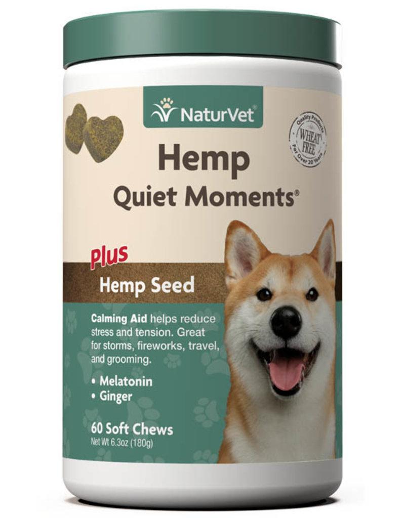 NaturVet NaturVet Hemp Quiet Moments Dog Chews (soft) 60ct
