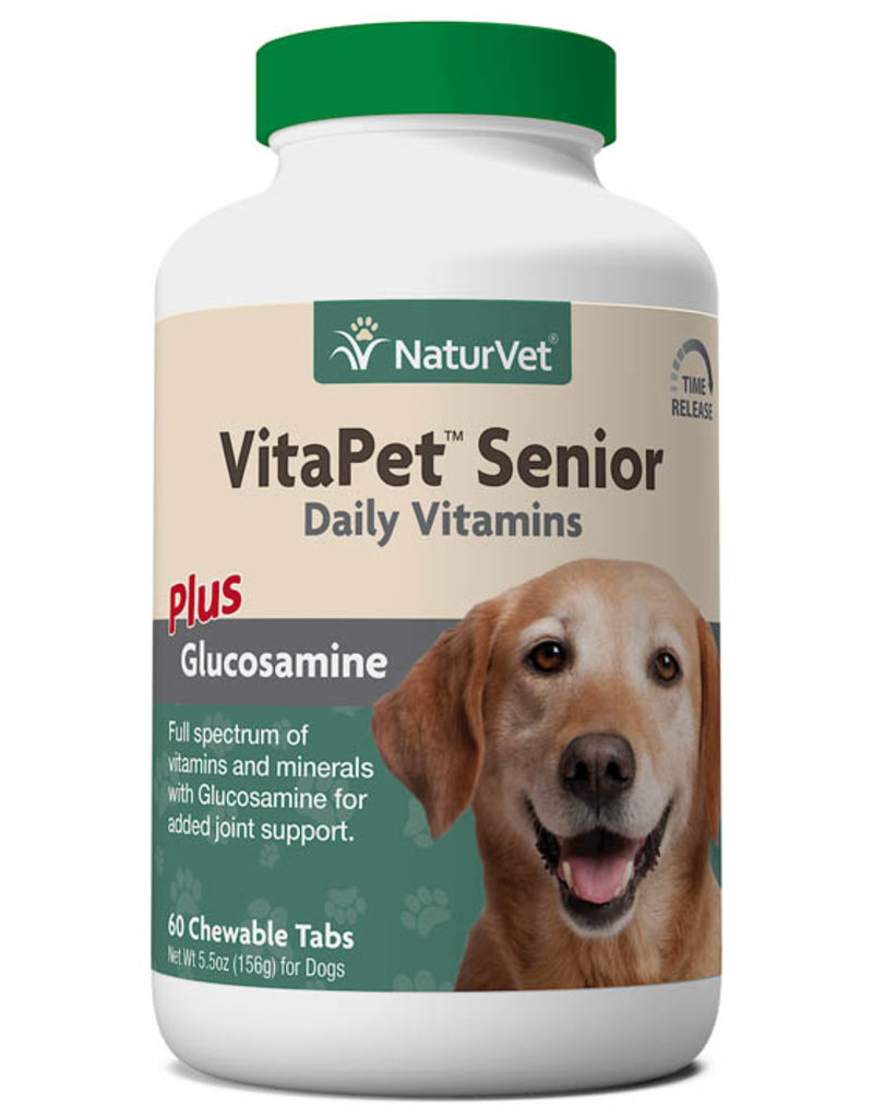 NaturVet NaturVet Vita Pet Senior 60 Tb. + Glucosamine