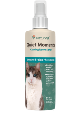 NaturVet NaturVet Quiet Moments Calming Spray 8oz