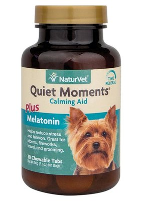 NaturVet NaturVet Quiet Moments Dog Calming Chews 30ct