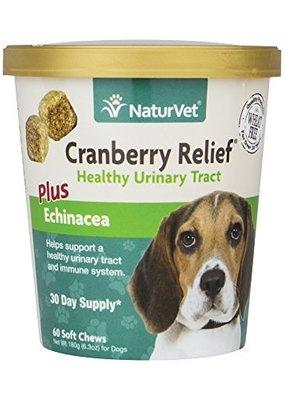 NaturVet NaturVet Cranberry Relief + Echinacea Soft Chews 60ct