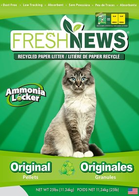Fresh News Fresh News Cat Litter Original Pellets