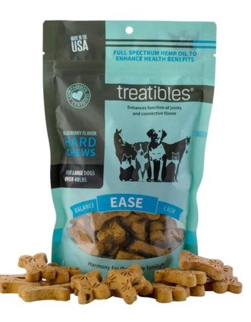 Treatibles Treatibles Large Dog Chews w/ Hemp Oil 75 Count
