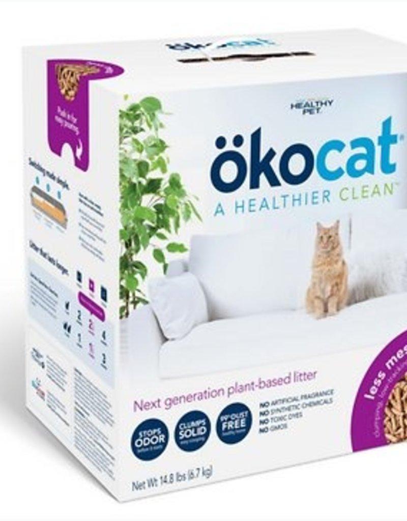 Okocat Okocat Less Mess Clumping Low-Tracking, Mini-Pellets Wood Cat Litter