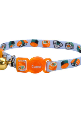 "Coastal Coastal 3/8"" Safety Cat Nylon Collar"